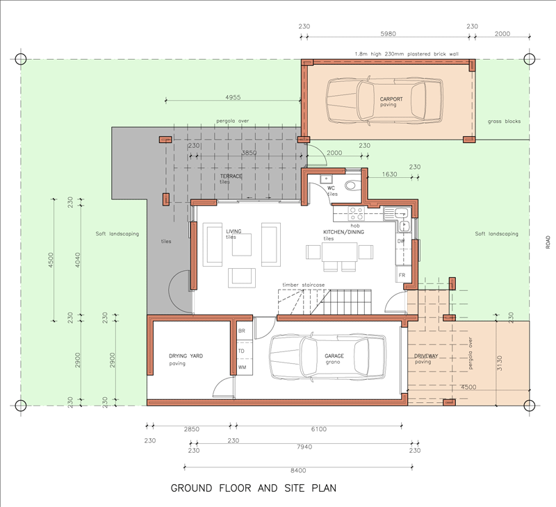 New belmont ceres house plans for Home design 50m2